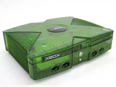 Original Xbox Translucent Green Development Debug Kit Console
