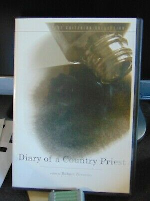 Diary Of A Country Priest by Robert Bresson - The Criterion Collection DVD