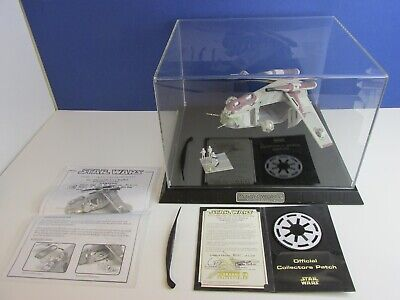 CODE 3 rare STAR WARS REPUBLIC GUNSHIP diecast REPLICA collectables CLONE WARS