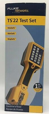 Fluke Networks TS22 Indoor/Outdoor Test Set: New In Box