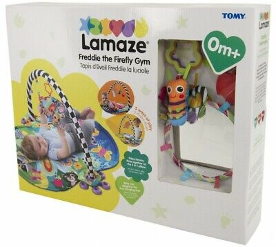 LC27170 Lamaze Freddie the Firefly Gym 3-in-1 Play Mat Baby Babies Infant Age 0+