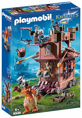 9340 Playmobil Mobile Dwarf Fortress with Shot Ballista Knights Suitable for age