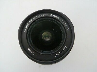 Canon EF-S 18-55mm f/3.5-5.6 IS Zoom Lens with Rear Lens Cap
