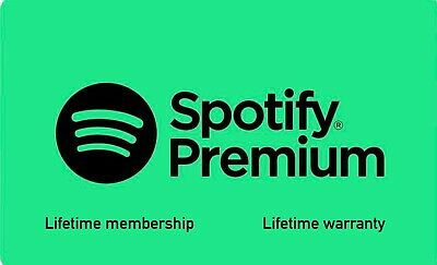 Spotify Premium Lifetime | Upgrade Existing Acc Or New Private Acc | Warranty