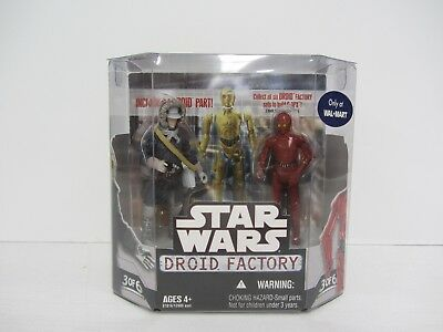 and R-3PO Hasbro Toys Star Wars Saga 2008 Build-A-Droid Factory Action Figure 2-Pack Han Solo Hoth Gear