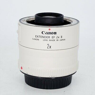 Canon Extender EF 2x II Teleconverter for 400mm f/4L, 70-200mm f/2.8L & More
