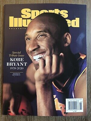 Sports Illustrated Kobe Bryant Special Tribute Issue 1978-2020 La Lakers