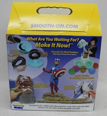 SMOOTH-ON Mold Max 60 High Heat Resistant Silicone Mould Rubber Trial Kit BNIB