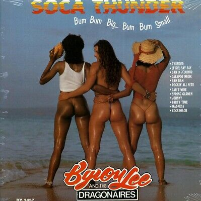 SEALED NEW LP Byron Lee & The Dragonaires - Soca Thunder