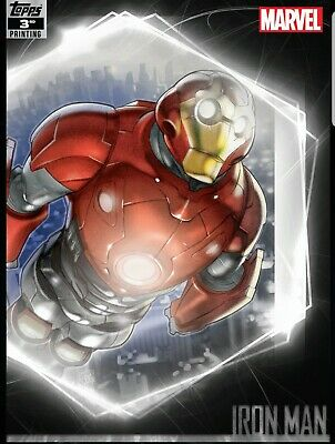 Topps Marvel Collect Ultimate Universe: 3rd Printing - Iron man