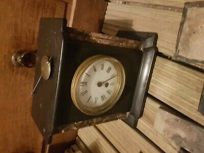 ANTIQUE.  French. marble. clock . spares or repair