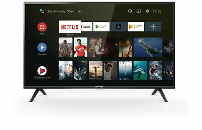 """Tcl 32Es560 Smart Tv 32"""" Led Hd Android Wi-Fi Dvb-T2 Certificato Sat"""