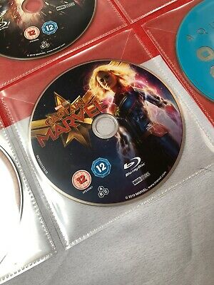 CAPTAIN MARVEL Blu Ray. Disc Only! New & Unplayed!