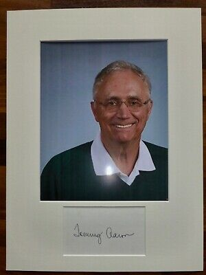 TOMMY AARON-A Hand Signed Card is Presented With A Photo-Mounted & Matted,COA