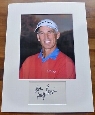 COREY PAVIN-A Hand Signed Card is Presented With A Photo-Mounted & Matted,COA