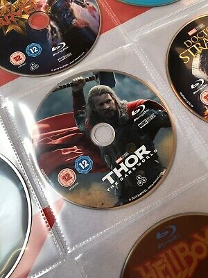 THOR THE DARK WORLD Blu Ray. Disc Only! New & Unplayed!