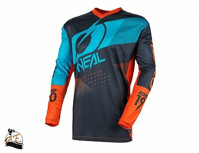 Maglia O'Neal Cross MX Element Youth Factor Grey Orange Blue Bambino 2020