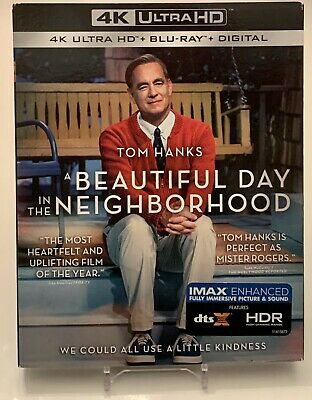 A Beautiful Day in the Neighborhood 4K UltraHD + Blu-Ray + Digital Sealed NEW!