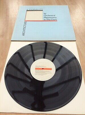 Orchestral Manoeuvres In The Dark - Architecture Etc - EX+ Vinyl LP Record - OMD