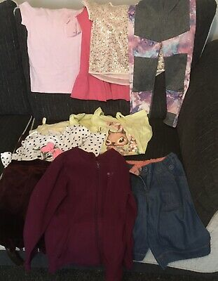 Girls Clothes Bundle Age 7-8 & 8 Years Excellent Cond Ready To Wear 20 Items