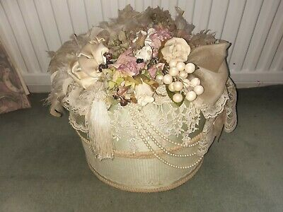 Vintage Barbara Barron Hat Box