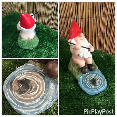 *Naughty* Gnome In his Hot tub indoors or outdoors Vivid Arts