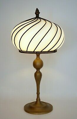 Unique Beautiful Art Nouveau Art Deco Brass Lamp Berlin Unique Table Lamp