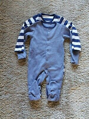 2 x Baby boys F&F Sleepsuits 6-9 months - New