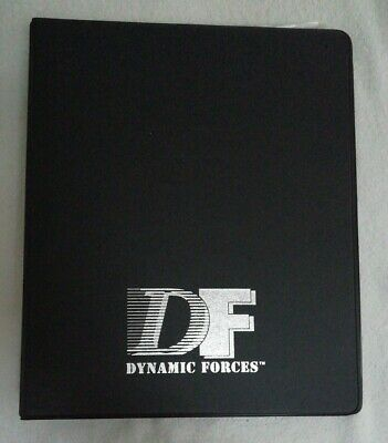 Dynamic Forces Comic Book Storage and Display Folder With 3 Comic Bags