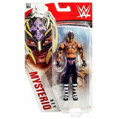 WWE Basic Action Figure Series 104 - Rey Mysterio *BRAND NEW*