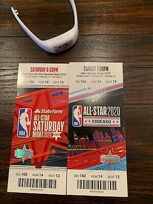 2020 NBA All-Star Games tickets.