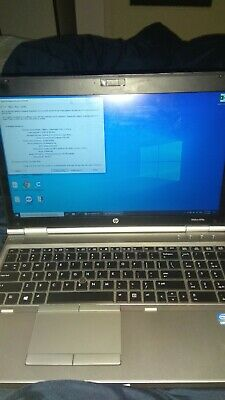 HP Elitebook 8570p/15.6in/120GB SSD/i5 3rd Gen(3320M vpro)/ 2.6GHz/8GB RAM