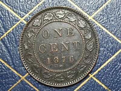 1876H Canada Large Cent Queen Victoria  lot 9