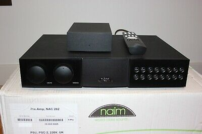 Naim NAC 282 Preamplifier with NAPSC-2 Power Supply