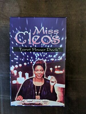 Miss Cleo's Tarot Power Deck Divinity Cards Fortune Teller Psychic