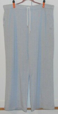 Women's Everlast Space Dye Grey Heather French Terry Wide Leg Pants/3Xlarge Plus
