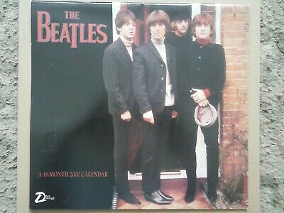 The Beatles - Official 1999 Sixteen Month Calendar - Made in the USA-Apple Corps