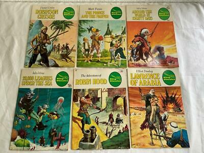16pc COLLECTABLE VINTAGE KING CLASSIC ILLUSTRATED MIXED COMICS / COMIC BOOKS