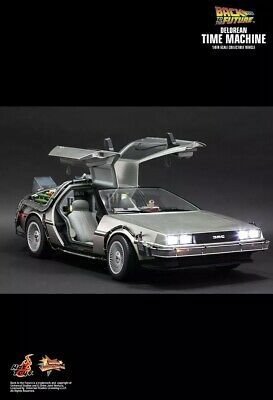 BACK TO THE FUTURE - Delorean 1/6th Scale Action Figure MMS260 (Hot Toys)