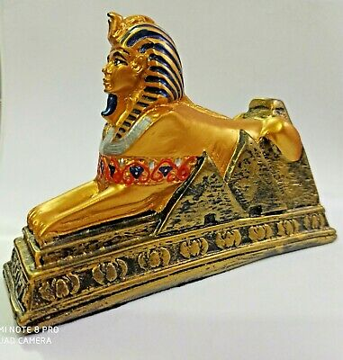 The legend of the Pharaohs in ancient Egypt Handmade Sphinx (Carved stone)