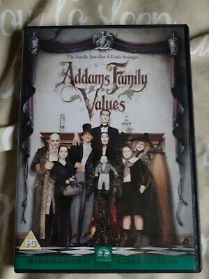 Addams Family Values DVD (Widescreen) 1993 (90mins)