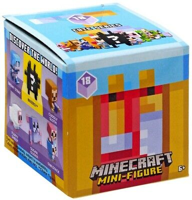 Minecraft 16594 Steve and Chestnut Brown Horse Toy Playset