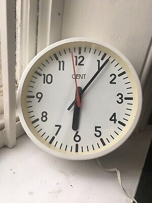Vintage Gent Wall Clock School