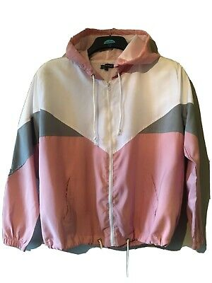 I Saw It First Jacket Pink/white Size S