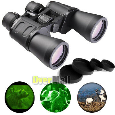 180x100 Zoom Night Vision BAK4 Outdoor Travel Binoculars Hunting Telescope Case