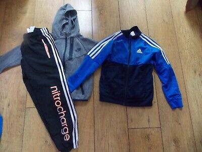 Boys Adidas Nike Tracksuit Tops Joggers Age 7-8 Years