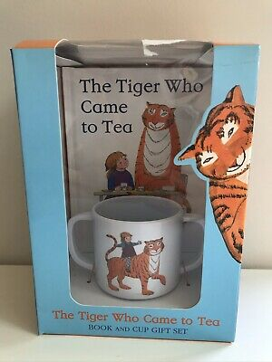 The Tiger Who Came To Tea Book And Cup Gift Set Brand New
