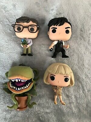 Funko Pop Little Shop of Horrors ( good condition but without boxes) x 4