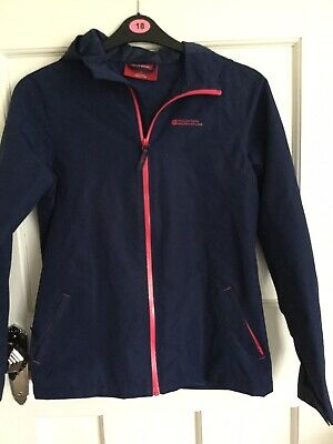Ladies Blue tracksuit top Mountain Warehouse Age 13 Excellent condition hardly w