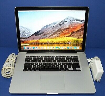 Apple Macbook Pro (15-inch, Mid 2010) 2.4GHz Intel Core i5, 4GB RAM, 320GB HD